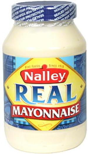 Nalley Real Mayonnaise - 32 oz Nutrition Information   Innit