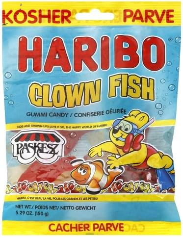 haribo clown fish gummi