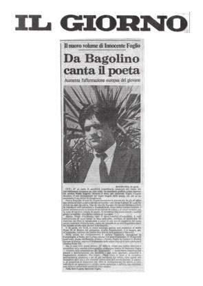 Da Bagolino canta il poeta - Il Giorno