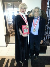 Grenoble premiazione Compagnie de Savoie al poeta Innocente Foglio