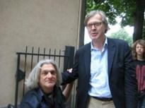 Innocente Foglio con Vittorio Sgarbi critico d'arte - 640