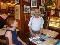 Innocente Foglio con la scrittrice Antonella Gatti Bardelli