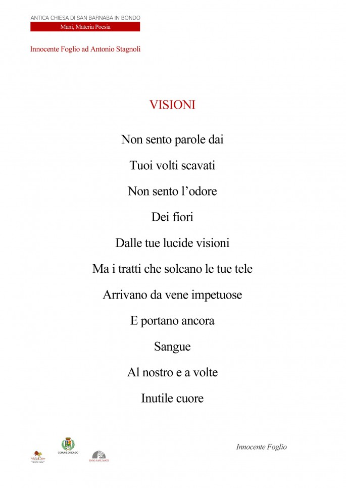 Visioni Poesia di Innocente Foglio