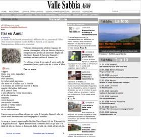Valle Sabbia News - Pas en Amur