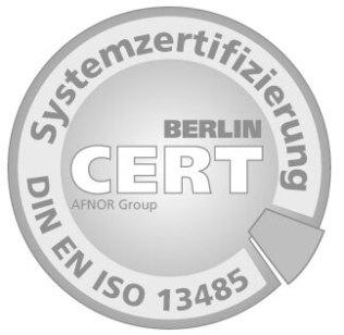 Zertzeichen ISO13485