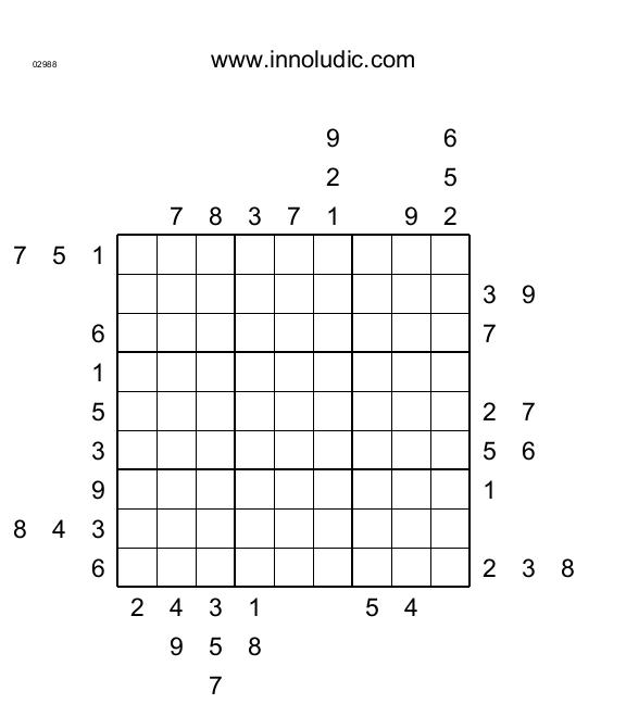 Outisde Sudoku # 11