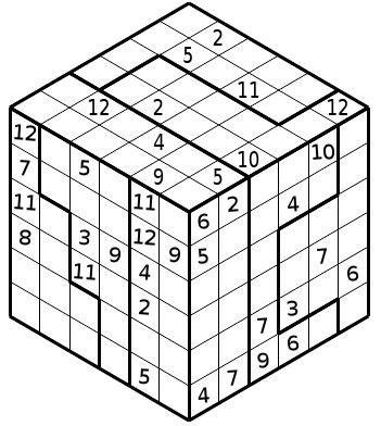 Sudoku 3D e: 3