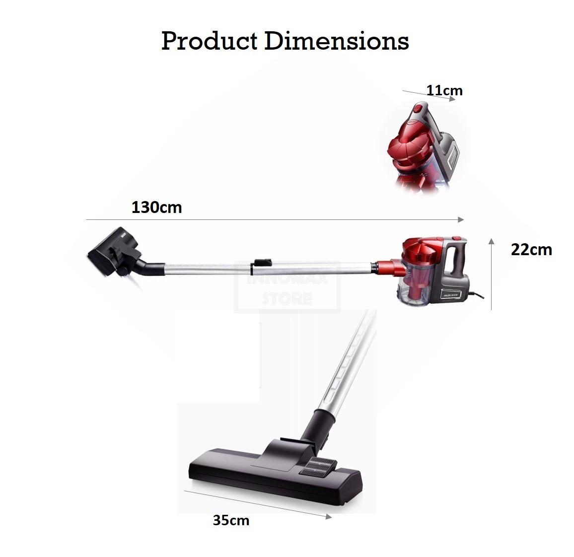 3in1 Cyclone Handheld Vacuum Cleaner (end 4/5/2021 12:00 AM)