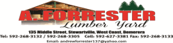 A. Forrester Lumber Yard
