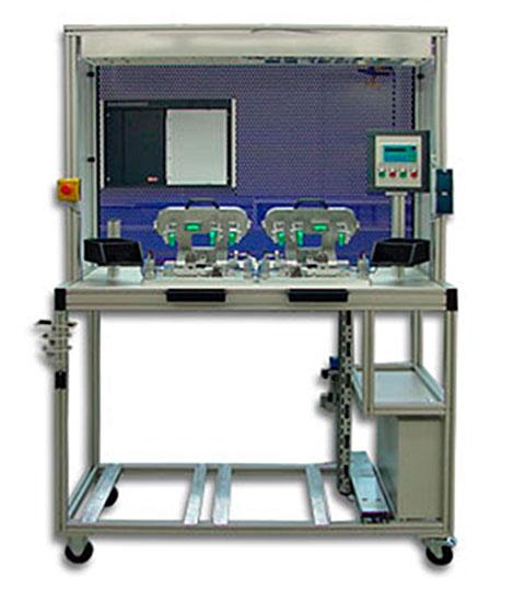 Teilautomatisierte Montagevorrichtung