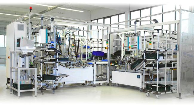 InnoTech Montageanlage im Automotive-Bereich