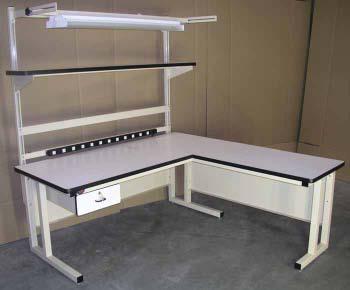 L Shaped Workbenches  NCI