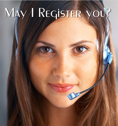 May I Register You