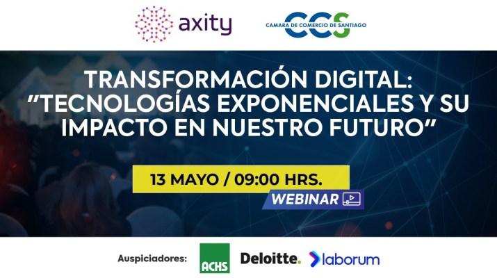 Webinar: Transformación Digital: Tecnologías exponenciales y su impacto en nuestro futuro