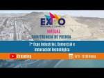 """CONFERENCIA DE PRENSA """"7° Expo Industrial, Comercial e Innovación Tecnológica"""" Edición Virtual"""
