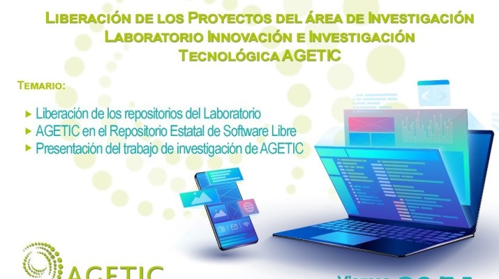 """Liberación del """"Laboratorio de Investigación e Innovación Tecnológica de AGETIC"""""""
