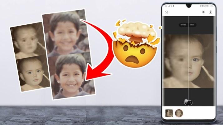 Restaura fotografías con Inteligencia Artificial - App de la semana