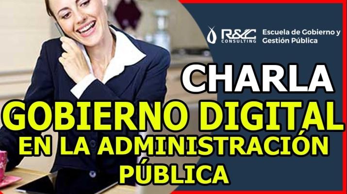 5 Gobierno Digital en la Administración Pública