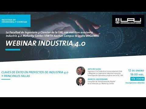 Claves de éxito de proyectos en industria 4.0 | Facultad de Ingeniería y Ciencias UAI