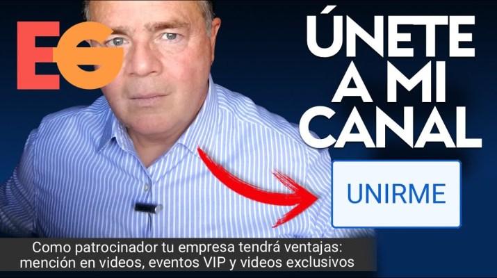 Hazte Miembro y Patrocinador del Canal Pulsando el Botón Azul de UNIRME