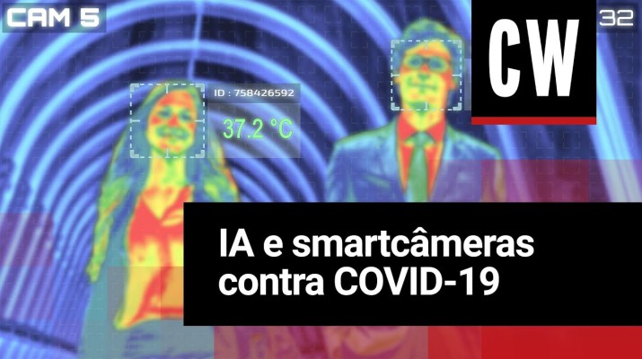Câmeras usam inteligência artificial contra COVID-19