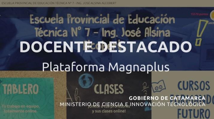 Docente Destacado Darío Martín Agüero   Min. de Ciencia e Innovación Tecnológica, Gob. de Catamarca