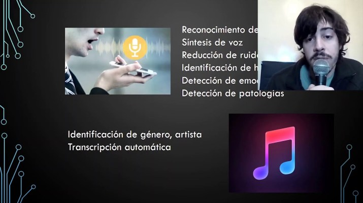 Inteligencia Artificial aplicada para el procesamiento de sonidos #COMPUTACIÓN