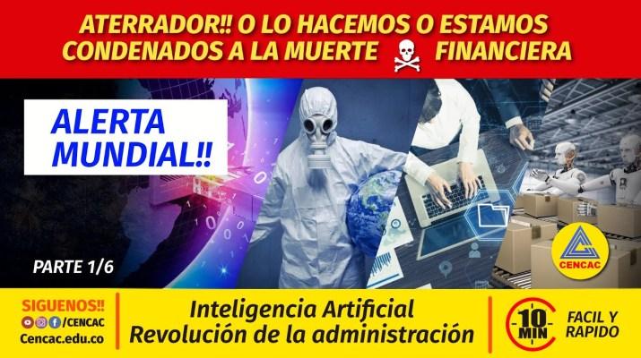 Reordenamiento Mundial de la administración, nueva planeación futurista con Inteligencia Artificial