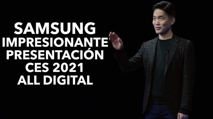 Samsung en CES 2021: robots e inteligencia artificial para un mejor mañana