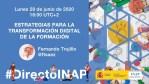#DirectoINAP Estrategias para la transformación digital de la formación