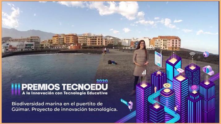 Biodiversidad Marina en Güímar | III Premios TECNOEDU a la Innovación con Tecnología Educativa | M2