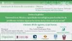 Innovación en México, capacidades tecnológicas para la solución de problemas sociales