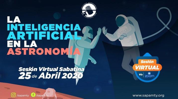 La Inteligencia Artificial en la Astronomía  - Sesión Virtual SAPA