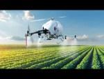 Mais rápido que um trator. Helicóptero autónomo pulveriza plantações com alta eficiência