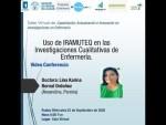 Taller innovación en investigación en #enfermería sesión 1 - Investigación Cualitativa