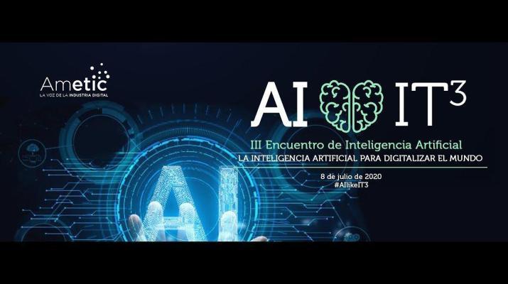 Vídeo resumen III Encuentro de Inteligencia Artificial #AIlikeIT3 de AMETIC