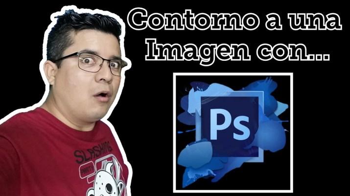 como poner contorno a una imagen en Photoshop cs6, Cómo hacer bordes a Tú miniatura con Photoshop