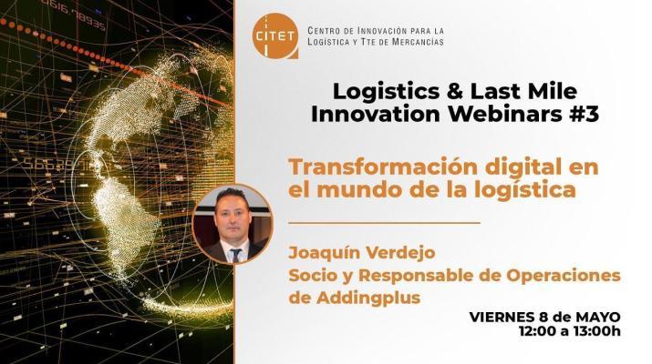 Webinar: Transformación digital en el mundo de la logística