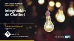 [Baitcon] SAP Business Technology Platform - Integración de Chatbot (por Eduardo Abascal)