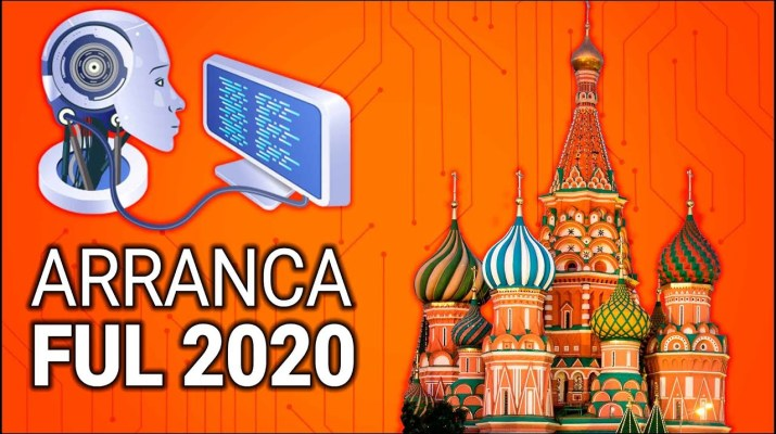 #FUL2020 Arranca la feria de todos con inteligencia artificial y Rusia