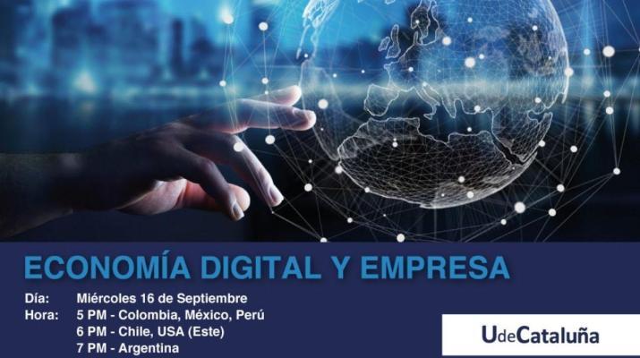 Webinar. Economía Digital y Empresa - UdeCataluña