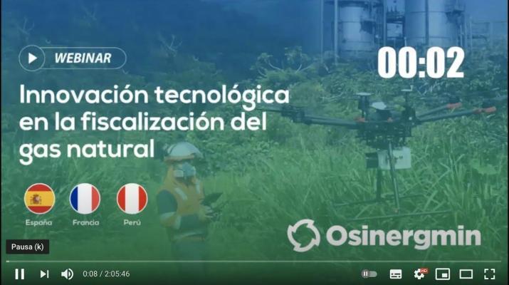 Webinar: Innovación tecnológica en la fiscalización del gas natural