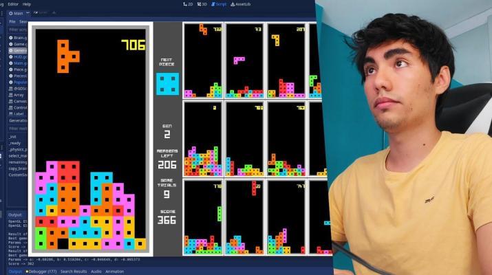 Creando Inteligencia Artificial que Juega Tetris