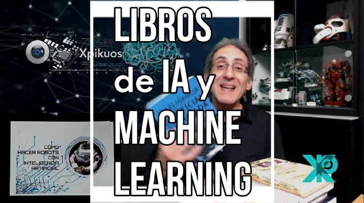 🔴 INTELIGENCIA ARTIFICIAL LIBROS RECOMENDADOS MACHINE LEARNING, PYHTON y ROBÓTICA 2020