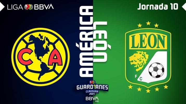Resumen y Goles | América vs León | Liga BBVA MX - Guard1anes 2021 - Jornada 10