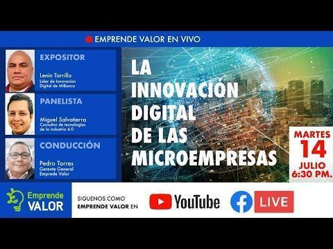 """""""LA INNOVACIÓN DIGITAL DE LAS MICROEMPRESAS���"""