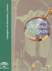 Acciones del Plan Andaluz de Investigación 1998-2000