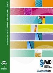 Avance Memoria del Plan Andaluz de Investigación, Desarrollo e Innovación 2009