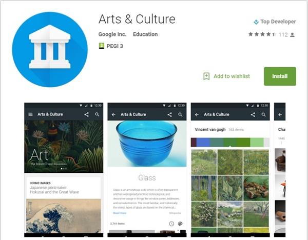 google kültür sanat