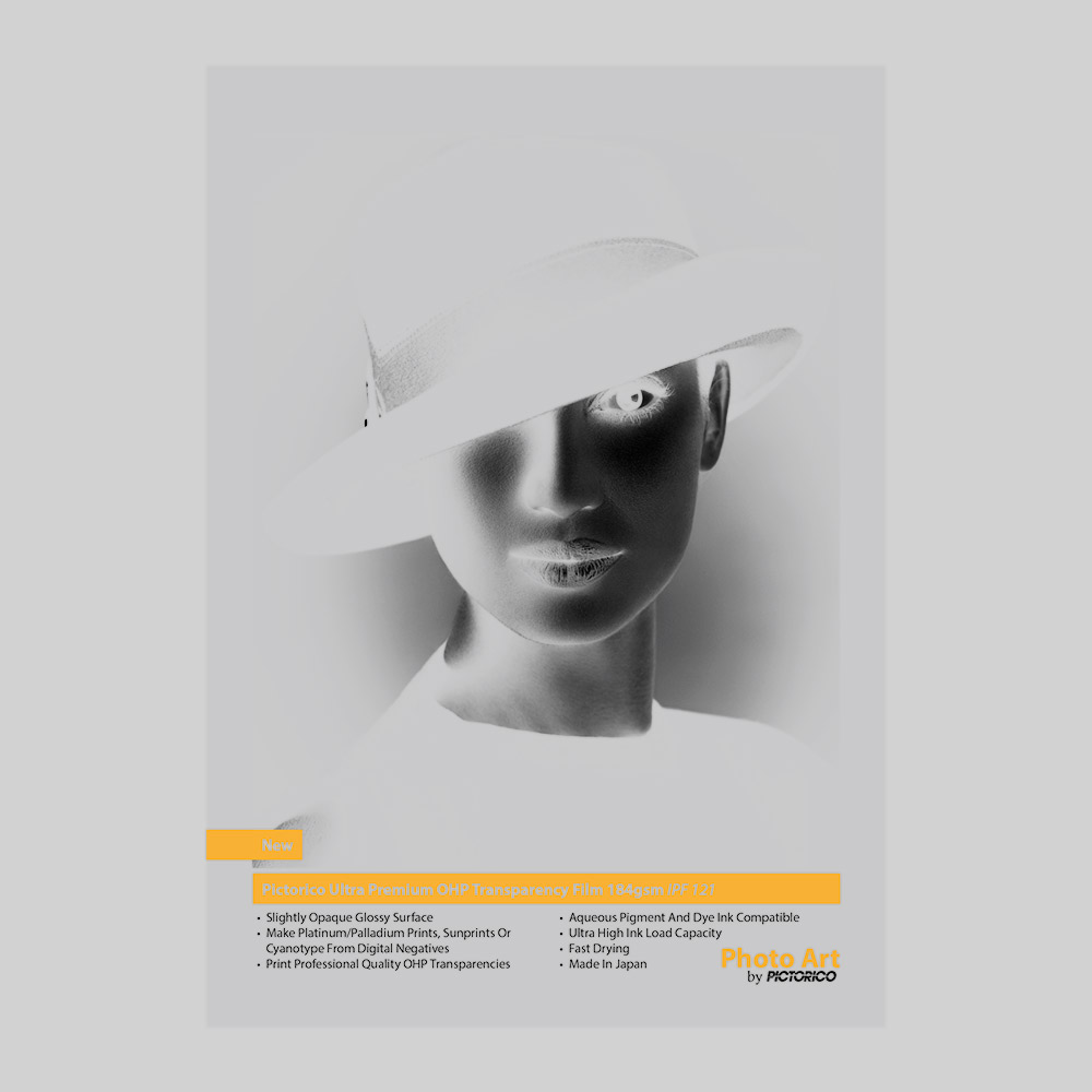 Pictorico Ultra Premium OHP Transparency Film 184gsm (IPF-121) Sample | Innova Photo Art by Pictorico